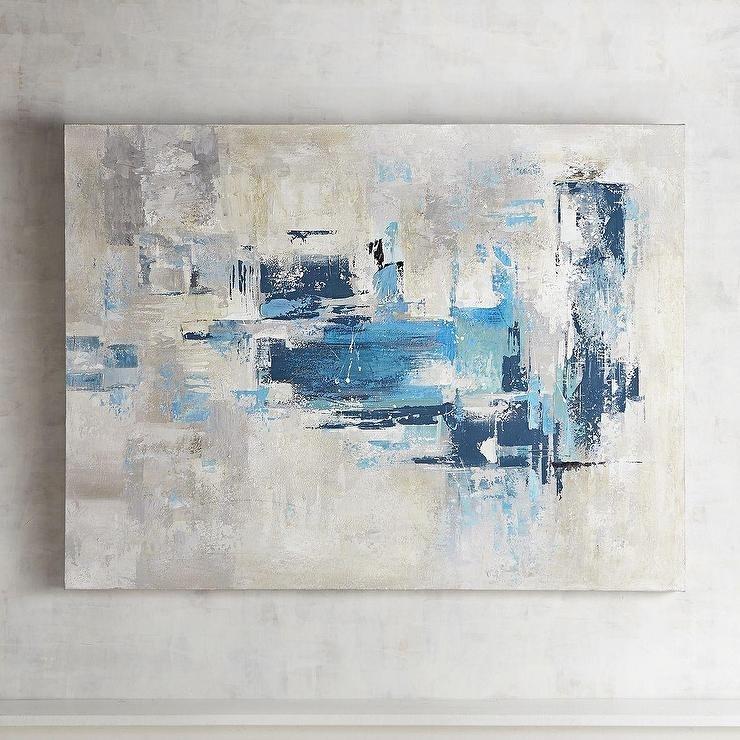 Gray Abstract Wall Art Regarding Gray Abstract Wall Art (Image 5 of 17)