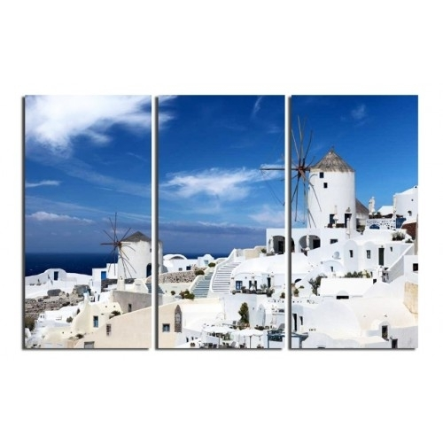 Greek Love Sea Photography|Unframed Art Prints Intended For Greece Canvas Wall Art (View 12 of 15)