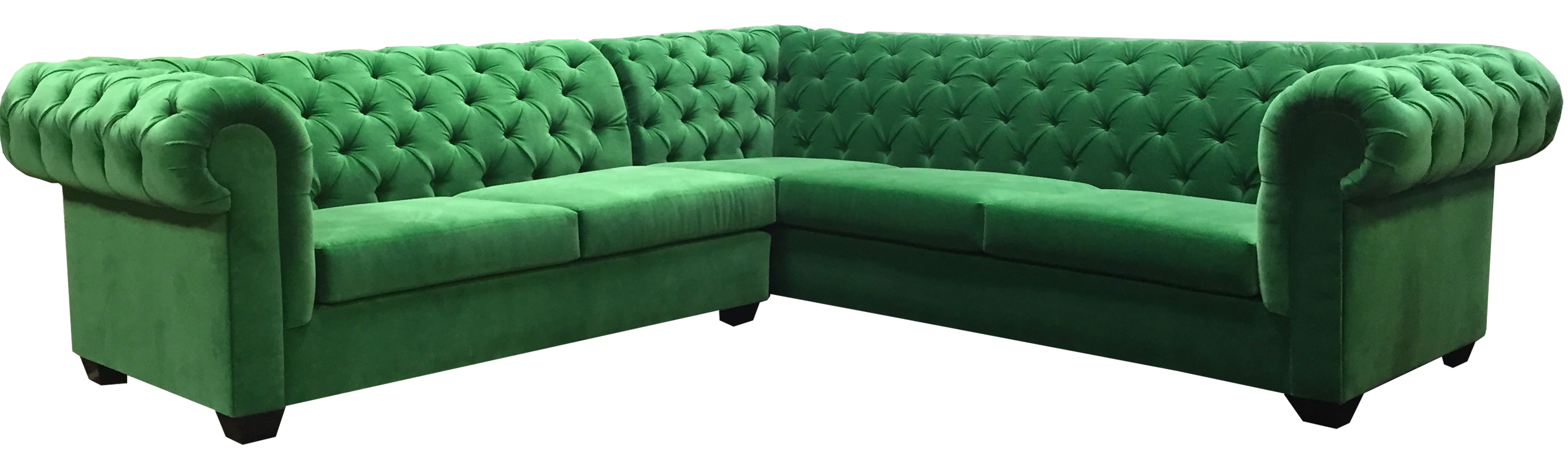 Green Sectional Sofa Mint Hunter Olive Stock Photos Hd | Paramountsmart Regarding Green Sectional Sofas (View 10 of 10)