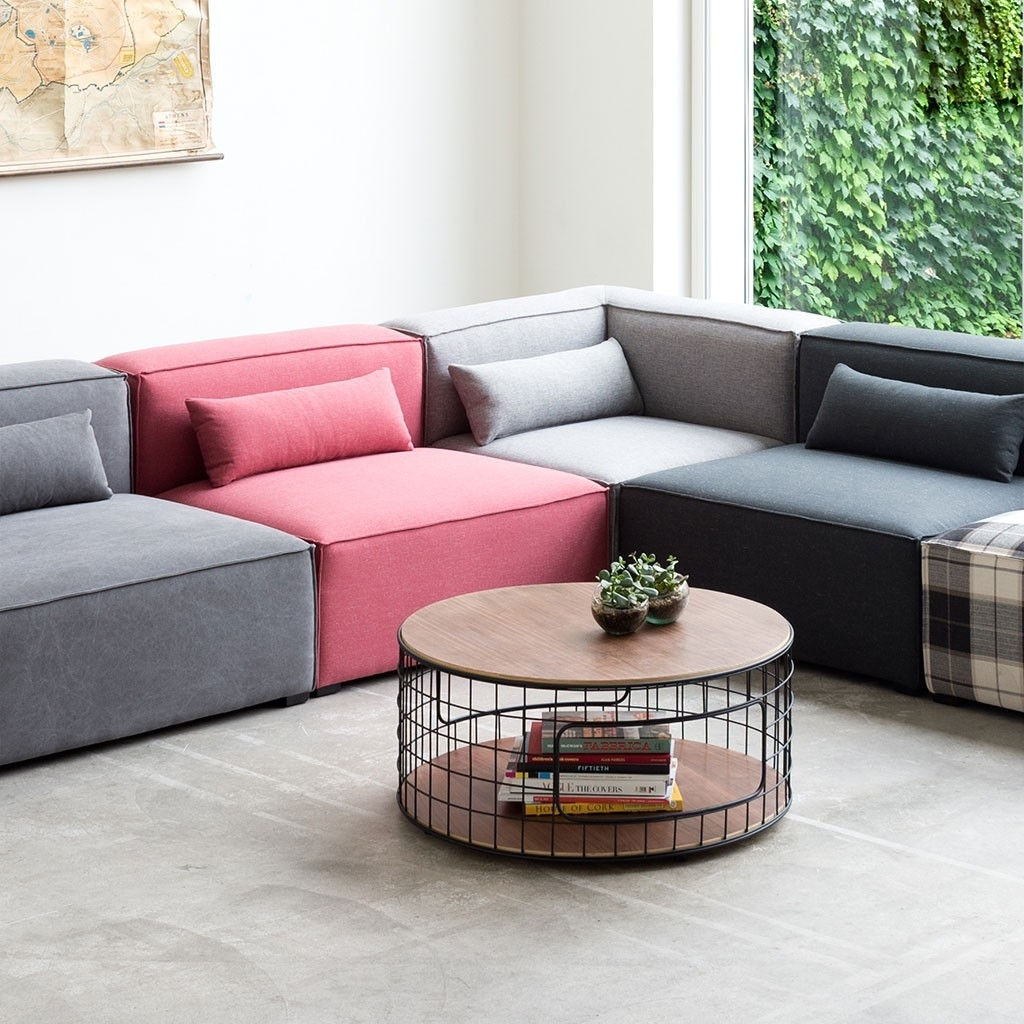 Gus* Modern Mix Modular Sectional Sofa – Gr Shop Canada Regarding Modular Sectional Sofas (View 3 of 10)