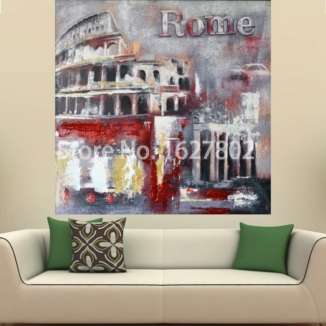 Featured Image of Canvas Wall Art Of Rome