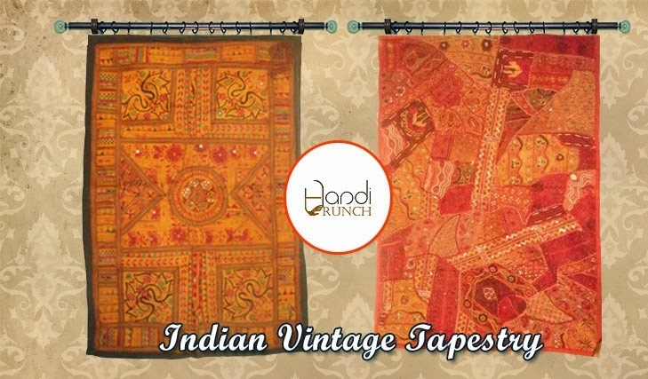 Handiware : An Official Blog Of Handicrunch With Indian Fabric Wall Art (Image 5 of 15)