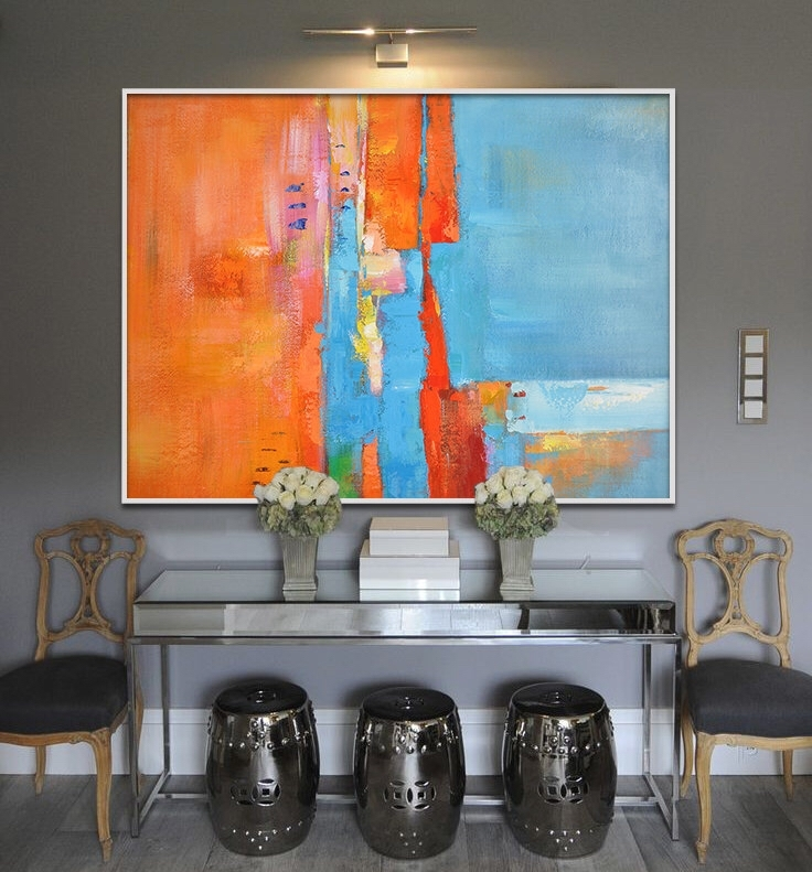 Featured Photo of Giant Abstract Wall Art