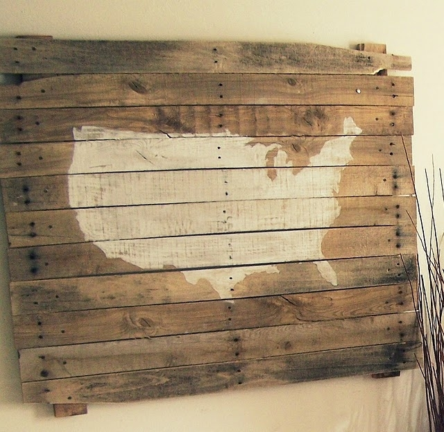 Hanging Boards On Walls For Unique Decor | Rustic Crafts & Chic Decor In Rustic Canvas Wall Art (Image 8 of 15)