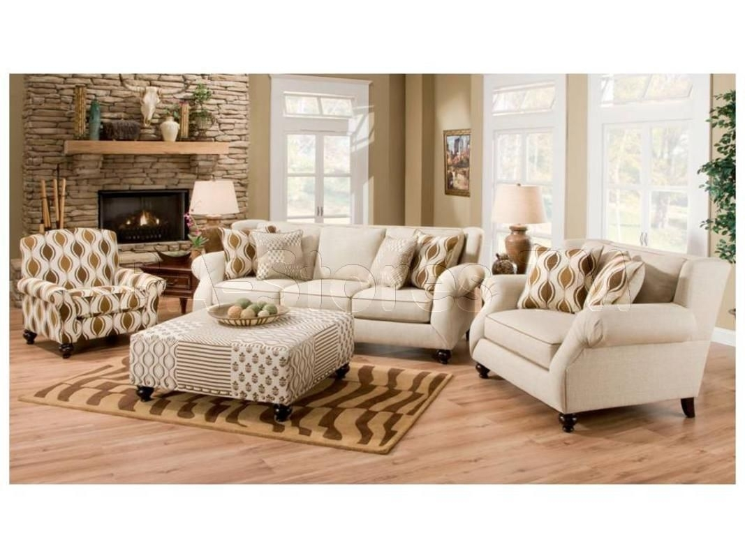 Hazel Simply Linen 4 Pc Sofa Set (Sofa, Chair, Accent Chair And For Sofa And Accent Chair Sets (Image 8 of 10)