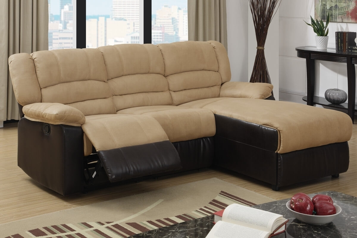 Hazelnut Sectional Sofa Ottoman • Sectional Sofa With Regard To Sectional Sofas Under (View 5 of 10)