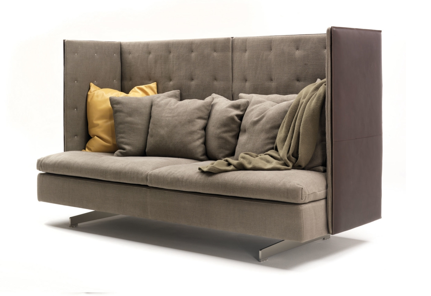 High Back Sectional Sofas – It Is Better To Opt For Leather Or Fabric? Pertaining To High Point Nc Sectional Sofas (Photo 6 of 10)