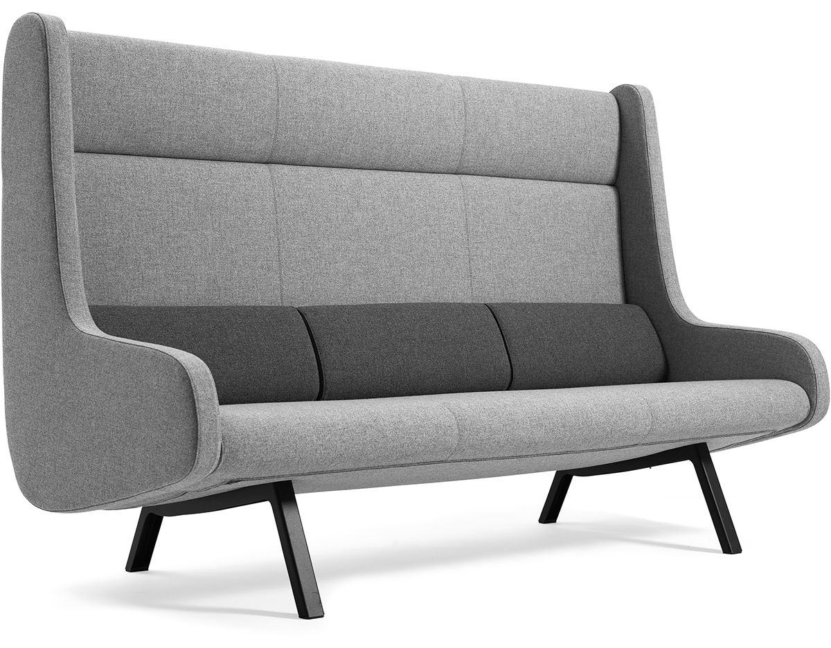 High Back Sectional Sofas – It Is Better To Opt For Leather Or Fabric? Regarding Sectional Sofas With High Backs (Image 4 of 10)