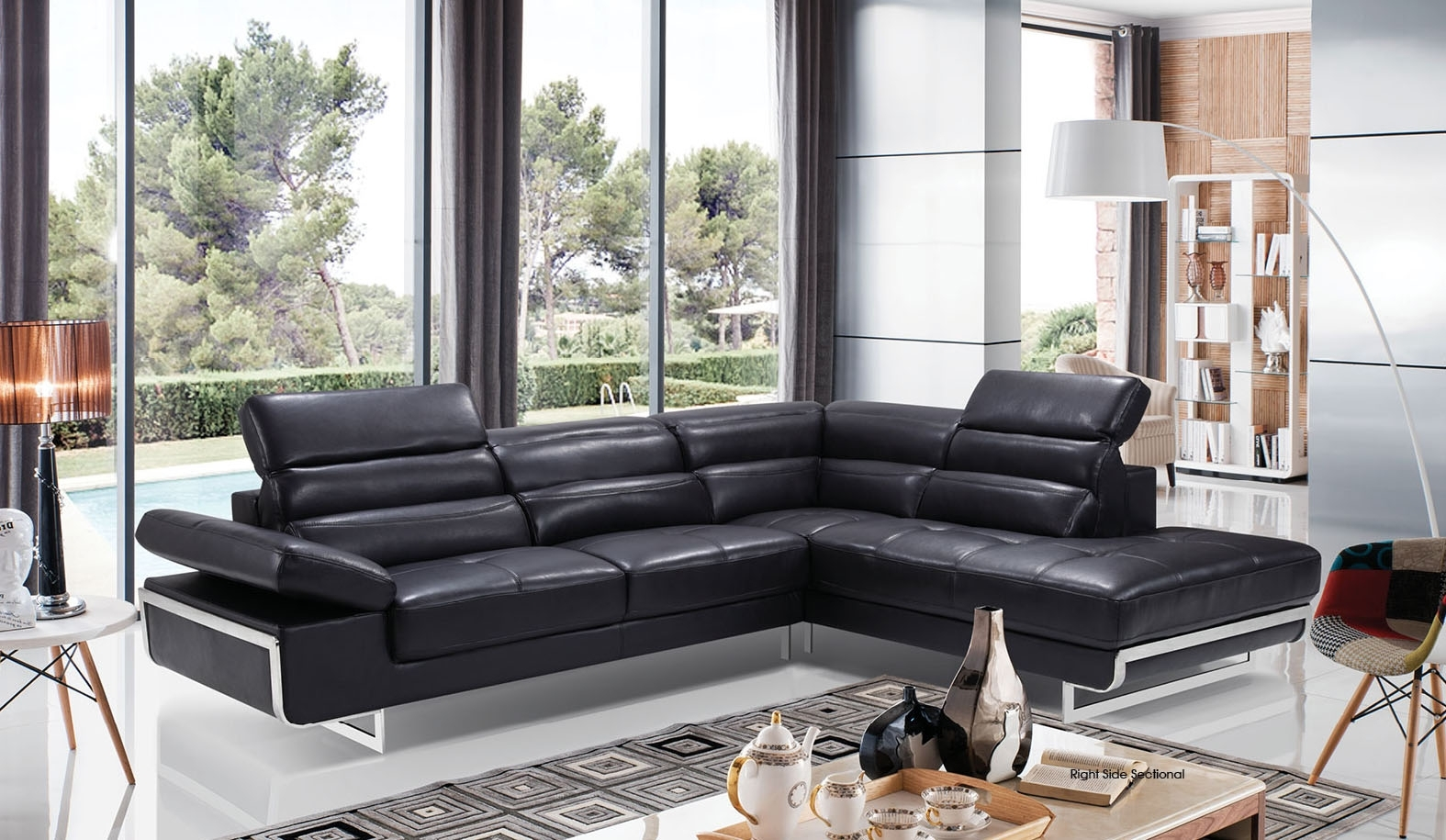 High Class Italian Leather Living Room Furniture Jacksonville For Jacksonville Fl Sectional Sofas (View 4 of 10)