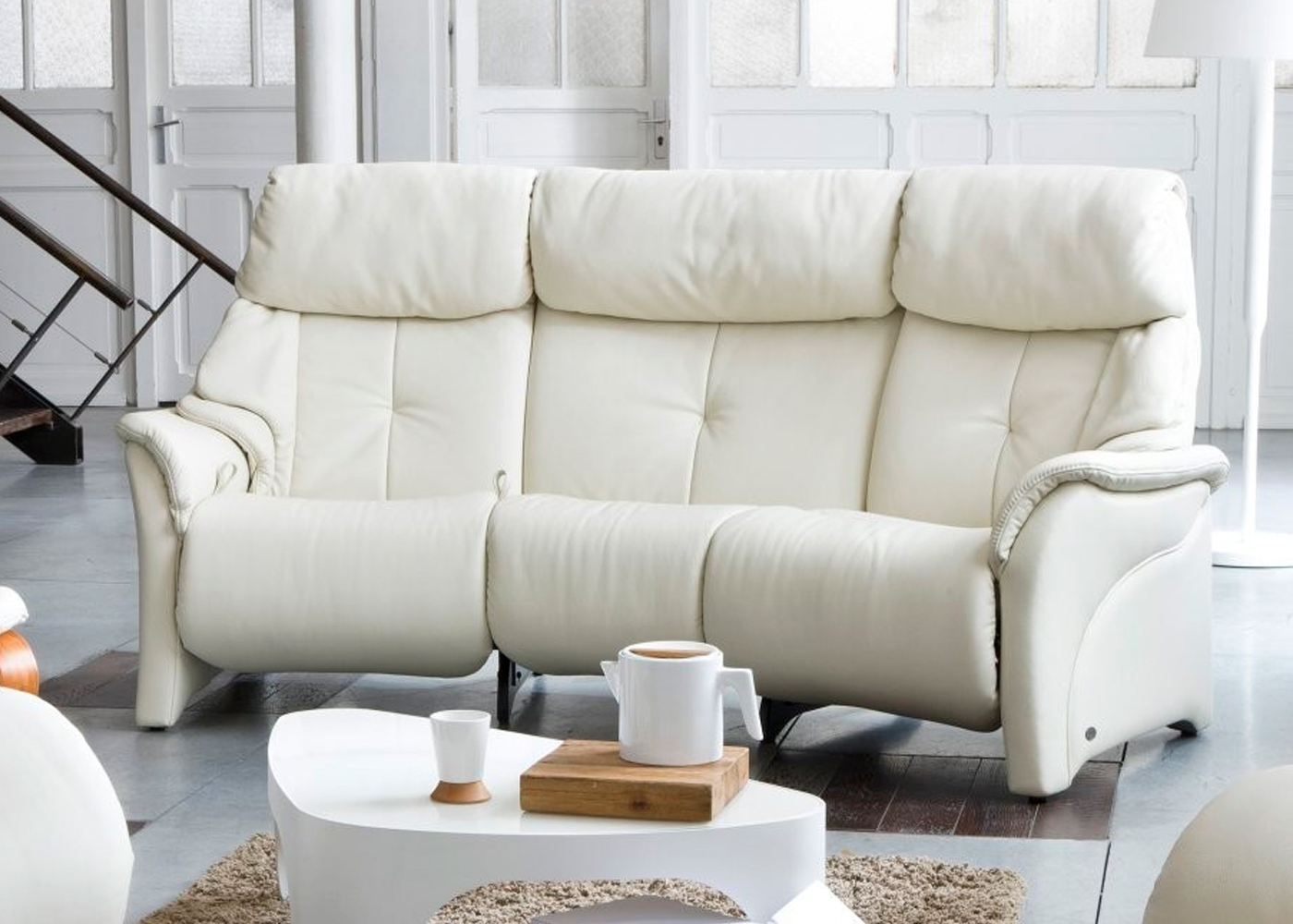Featured Image of Curved Recliner Sofas