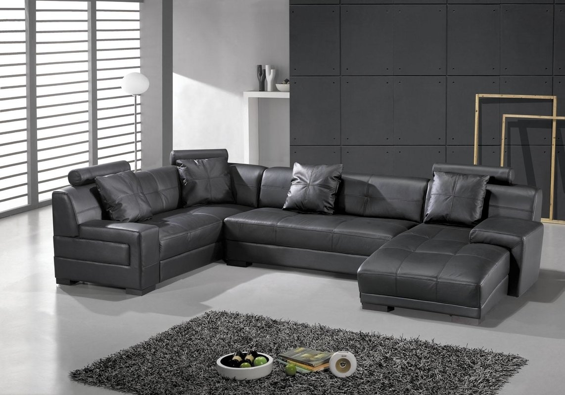 Hokku Designs Houston Sectional & Reviews | Wayfair With Regard To Houston Sectional Sofas (View 6 of 10)