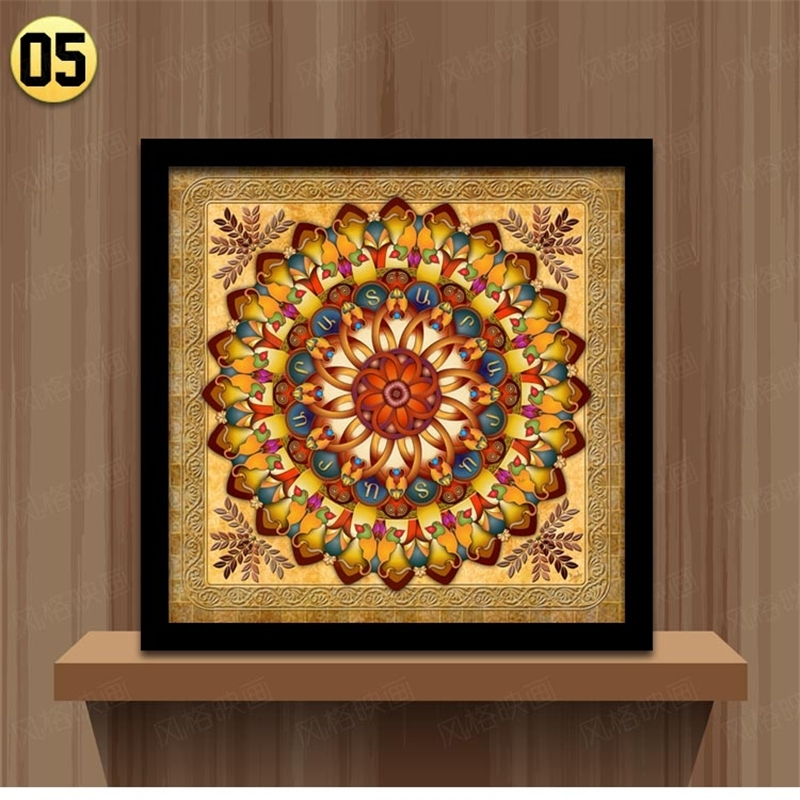 Home Decoration Framed Wall Art Canvas Painting Ethnic Picture For Inside Ethnic Canvas Wall Art (View 4 of 15)