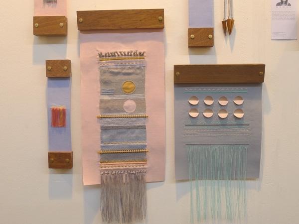 Homebuildlife: Embroidered Wall Artmegan Strickson With Scandinavian Fabric Wall Art (Image 7 of 15)