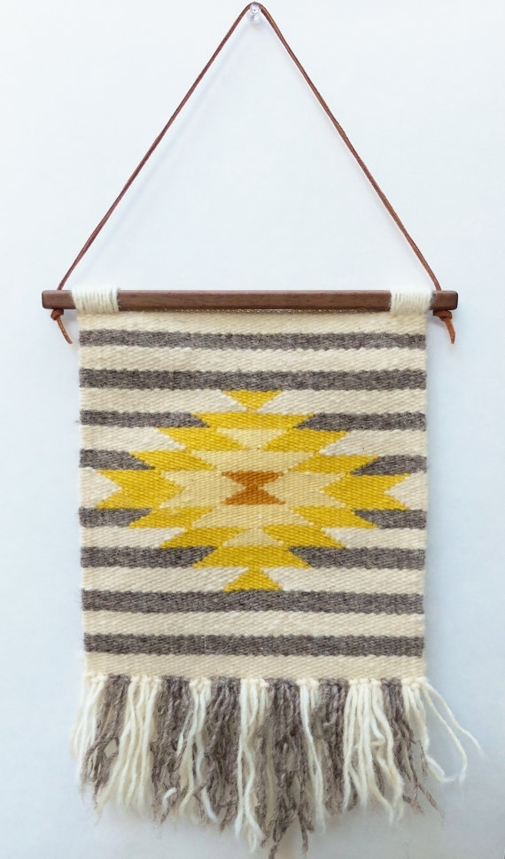 Homely Design Woven Tapestry Wall Hangings With 18 – Decoration In Woven Fabric Wall Art (View 13 of 15)