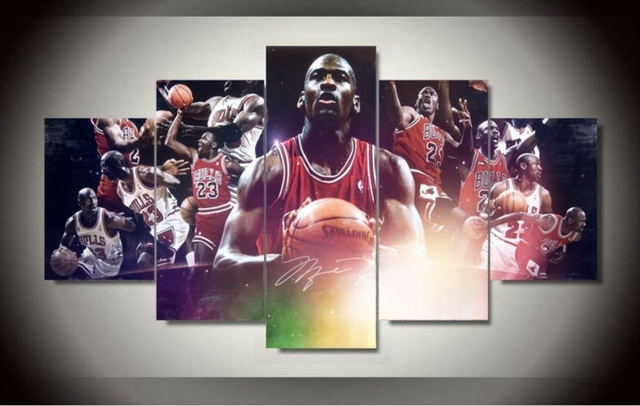 Featured Photo of Michael Jordan Canvas Wall Art