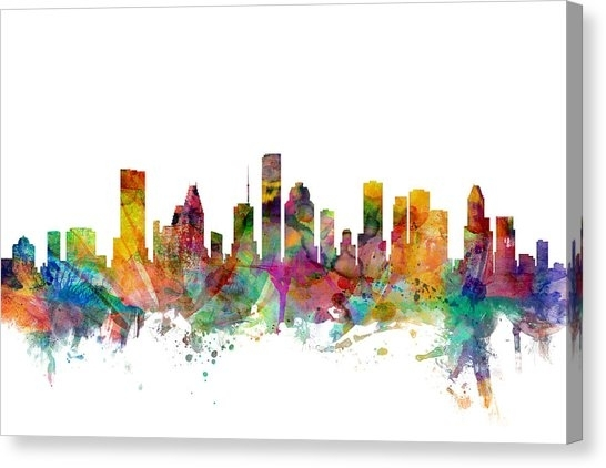 Houston Canvas Prints | Fine Art America Throughout Houston Canvas Wall Art (View 6 of 15)