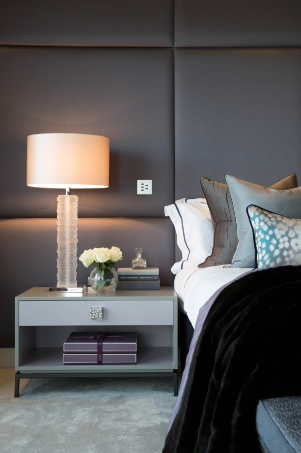 How A Home Could Look Like If It Had Upholstered Walls | Cushion Within Padded Fabric Wall Art (View 9 of 15)