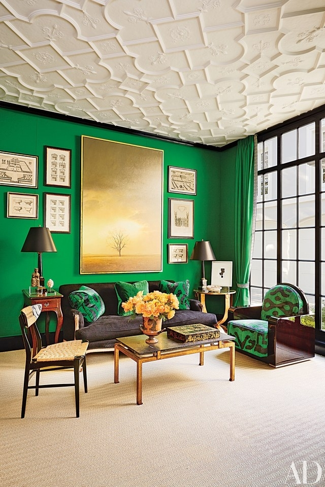 How To Add Art Deco Style To Any Room Photos | Architectural Digest For Art Deco Wall Fabric (Image 11 of 15)