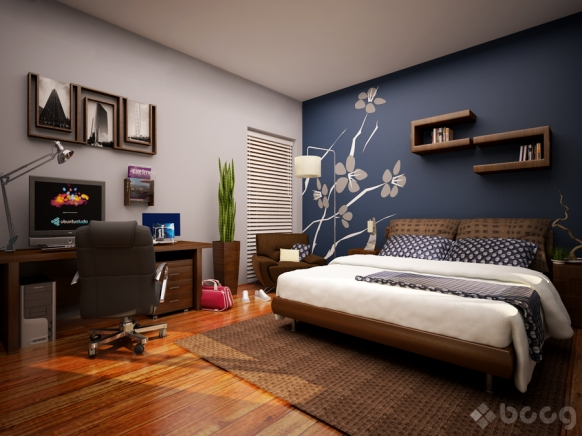 Featured Image of Wall Accents For Bedroom