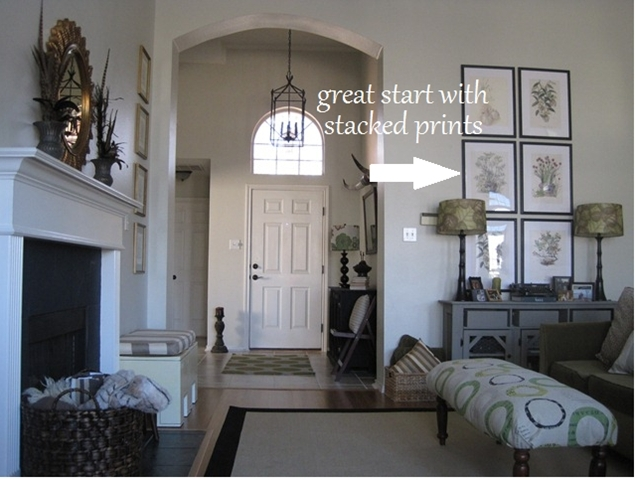 How To Decorate A High Living Room Wall – Meliving #01337Bcd30D3 Inside High Ceiling Wall Accents (Image 8 of 15)