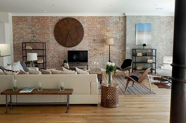 How To Faux Brick Wall – 5 Ways To Diy In Brick Wall Accents (Image 12 of 15)