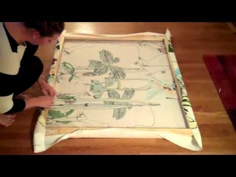 How To Make A Marimekko Fabric Stretching. (Image 7 of 15)