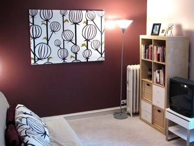 How To Make Fabric Panel Wall Art | How About Orange Within Fabric Stretcher Wall Art (Image 9 of 15)