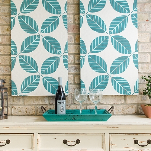 How To Make Outdoor Fabric Wall Art Video – Sailrite Within Outdoor Fabric Wall Art (Image 9 of 15)