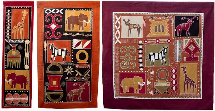 Http://www.tribaltextiles.co.zm/product/wall Hangings (Image 15 of 15)