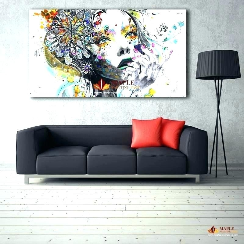Huge Canvas Wall Art – Boyintransit Intended For Canvas Wall Art In Canada (Image 11 of 15)