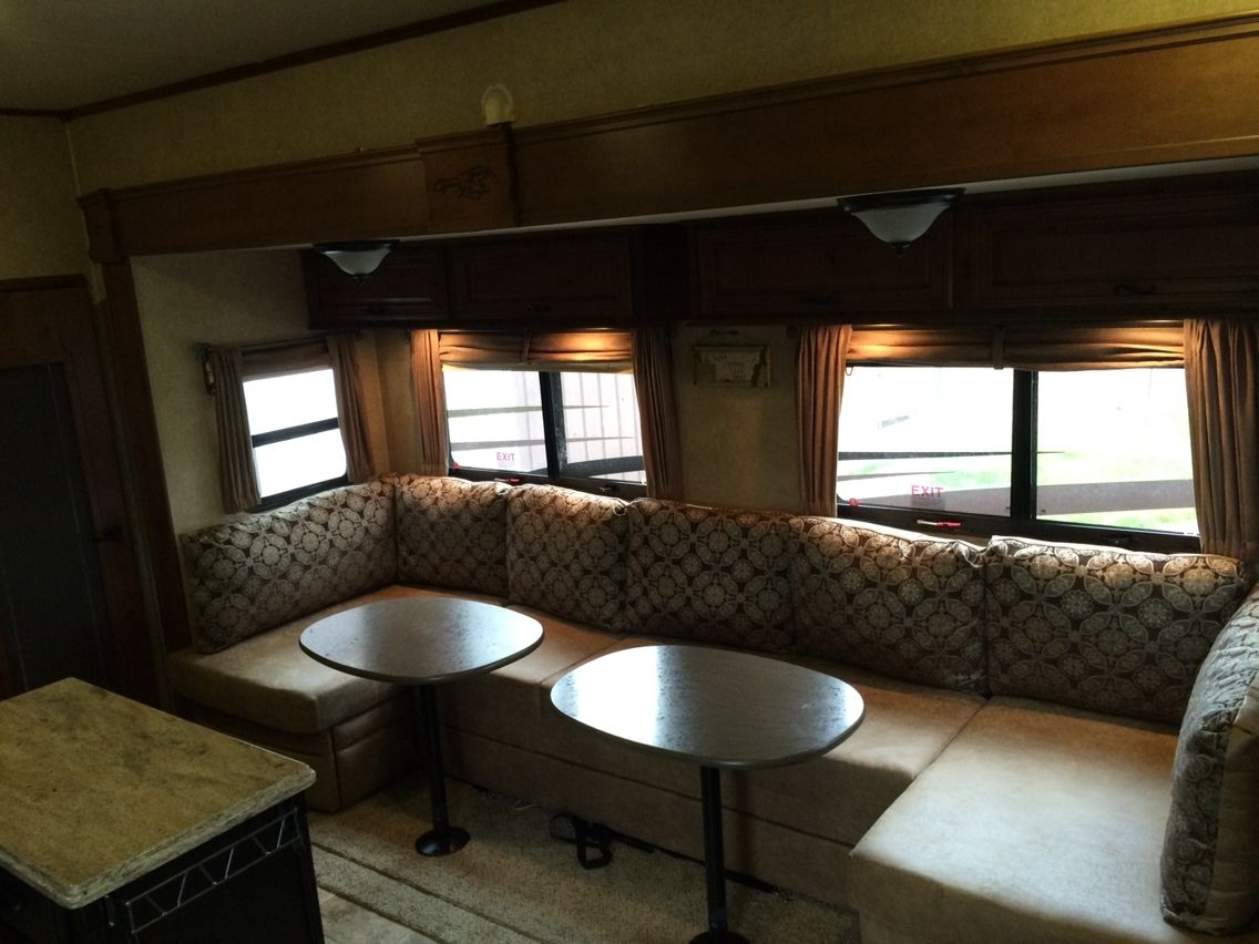 I Replaced The Dining Table And Sofa Bed With This U Lounge Intended For Sectional Sofas For Campers (Image 3 of 10)
