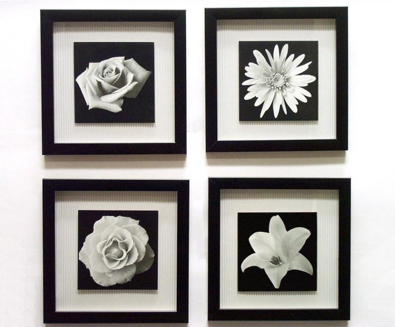 Icon Black And White Framed Prints Regarding Black And White With Regard To Black Framed Art Prints (View 4 of 15)