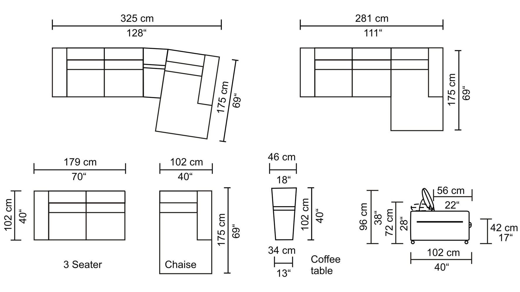 Ikea Ektorp 2 Seater Sofa Measurements – 28 Images – Ektorp Sofa Bed Pertaining To Measurements Sectional Sofas (Image 6 of 10)