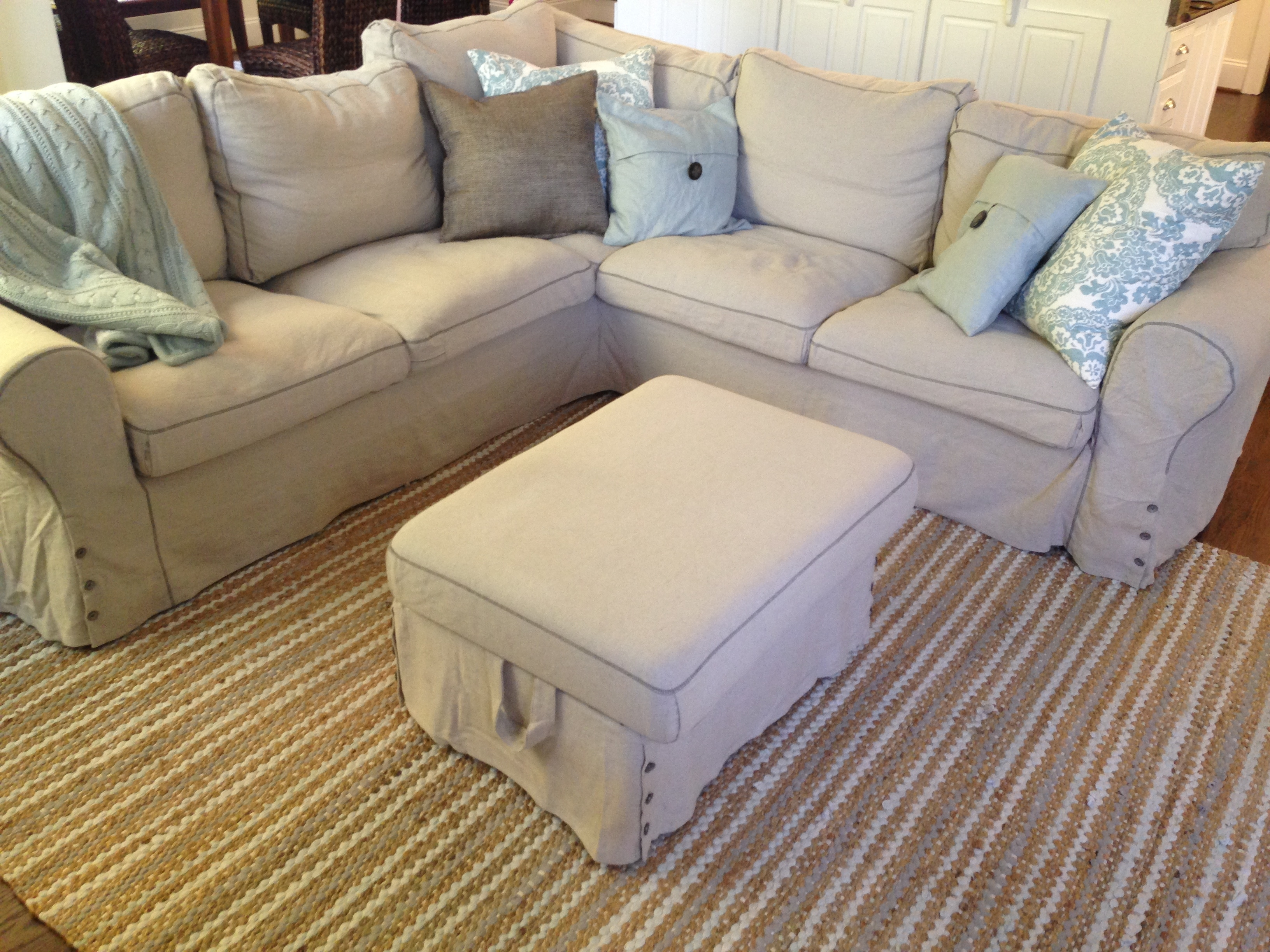 Featured Photo of Removable Covers Sectional Sofas