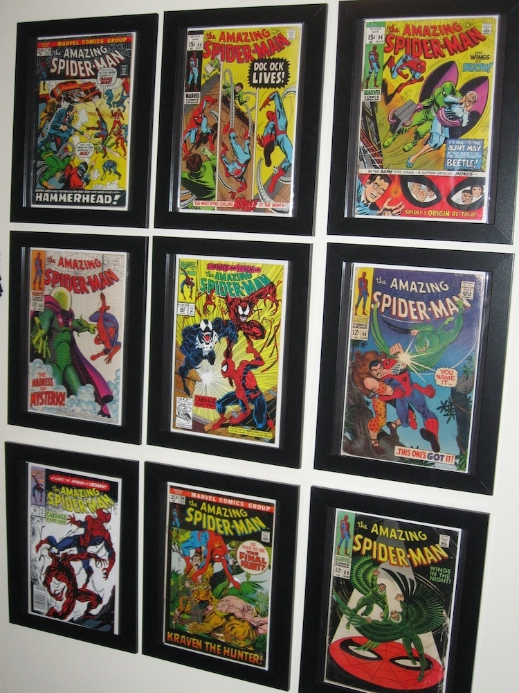 Ikea Hack – Comic Book Frames | Game Room | Pinterest | Ikea Hack Intended For Framed Comic Art Prints (Image 9 of 15)