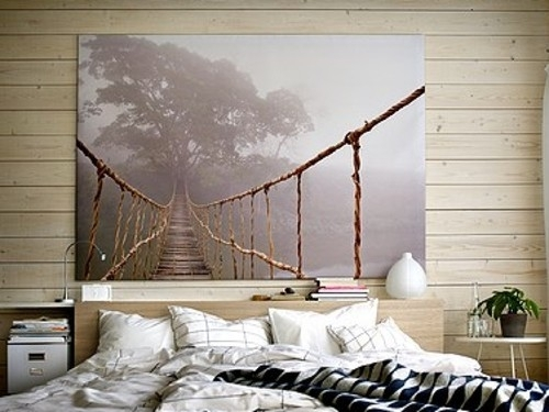 "Ikea Large Wall Art – 78 3/4""55"" – This Or Forest Canvas For With Canvas Wall Art At Ikea (Image 8 of 15)"