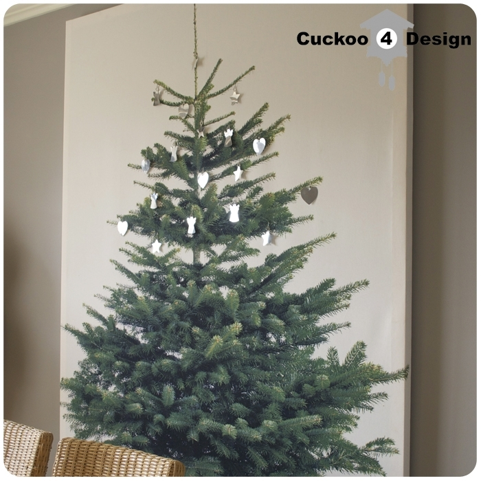 Ikea Margareta Christmas Tree Canvas | Cuckoo4Design regarding Ikea Fabric Wall Art