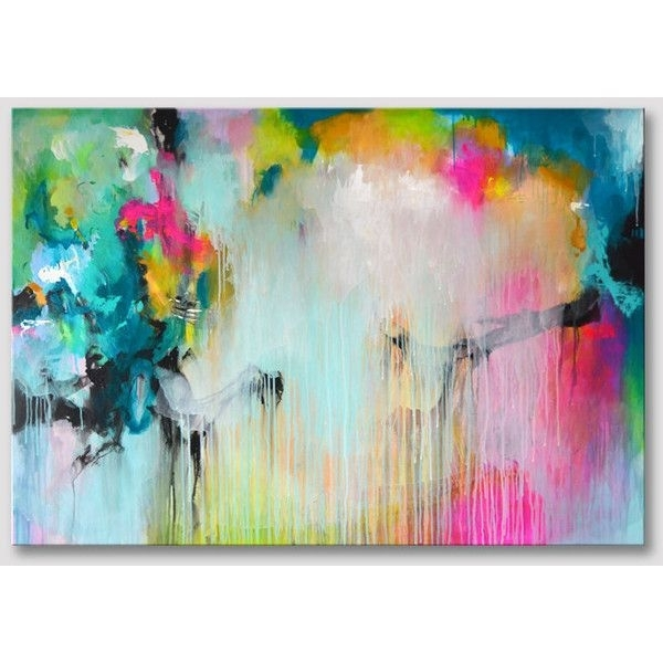 Featured Image of Abstract Neon Wall Art