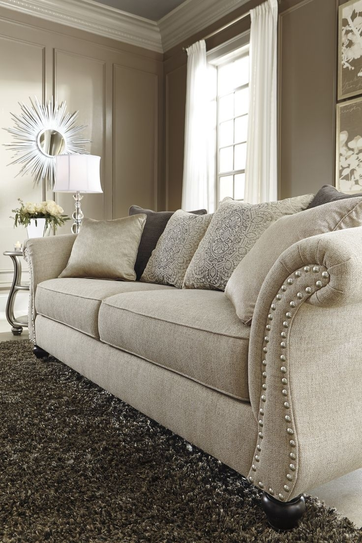 Image Result For Ashley's Furniture Beige Sofa | Sofas | Pinterest Regarding Sectional Sofas At Ashley (View 7 of 10)