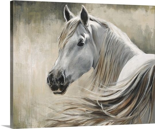 Featured Image of Horses Canvas Wall Art