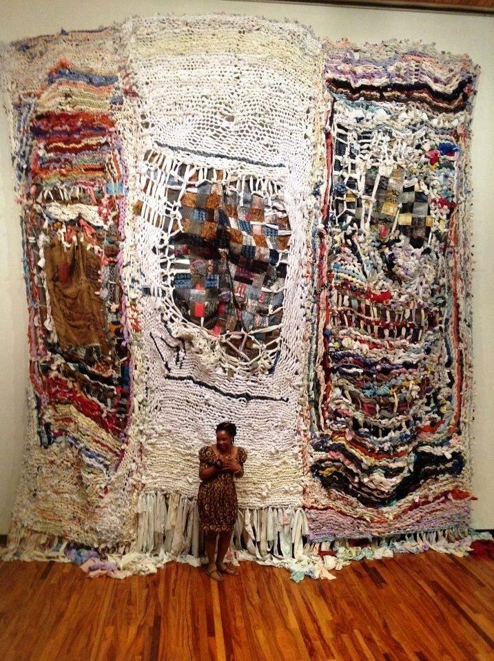 Image Result For Juxtapoz Fiber Arts | Art | Fiber | Pinterest With Textile Wall Art (Image 9 of 15)
