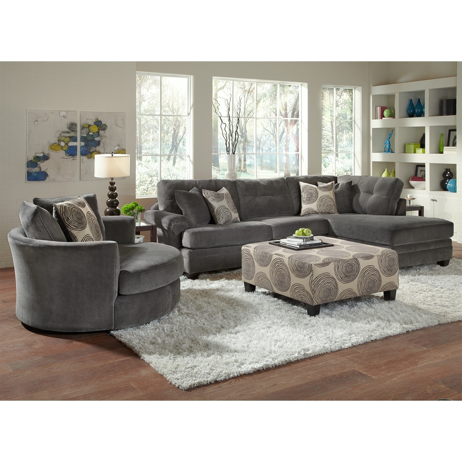 Impressive Rooms To Go Ottoman Sectional Sofa Design Value City Set In Rooms To Go Sectional Sofas (View 9 of 10)