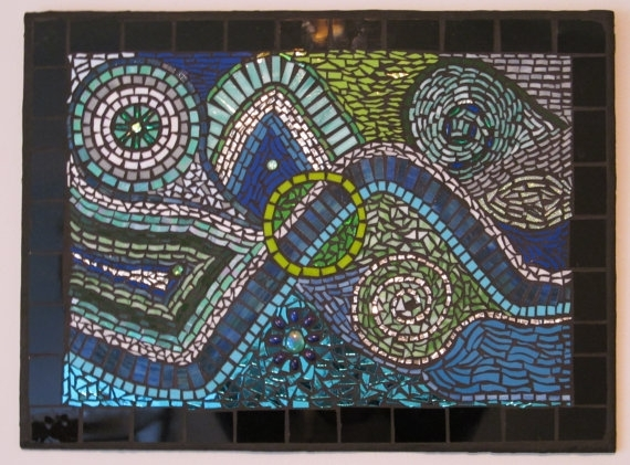 Incredible As Well As Beautiful Mosaic Wall Art For Existing House Regarding Abstract Mosaic Wall Art (Image 9 of 15)