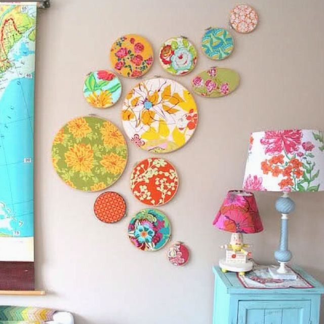 Incredible Inspiration Fabric Wall Hanging Decoration Inspiring Throughout Creative Fabric Wall Art (View 12 of 15)
