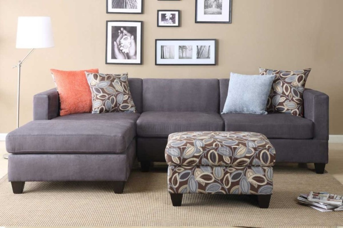 Incredible Microfiber Sleeper Sofa Top Home Design Ideas With Grey within 3 Piece Sectional Sleeper Sofas