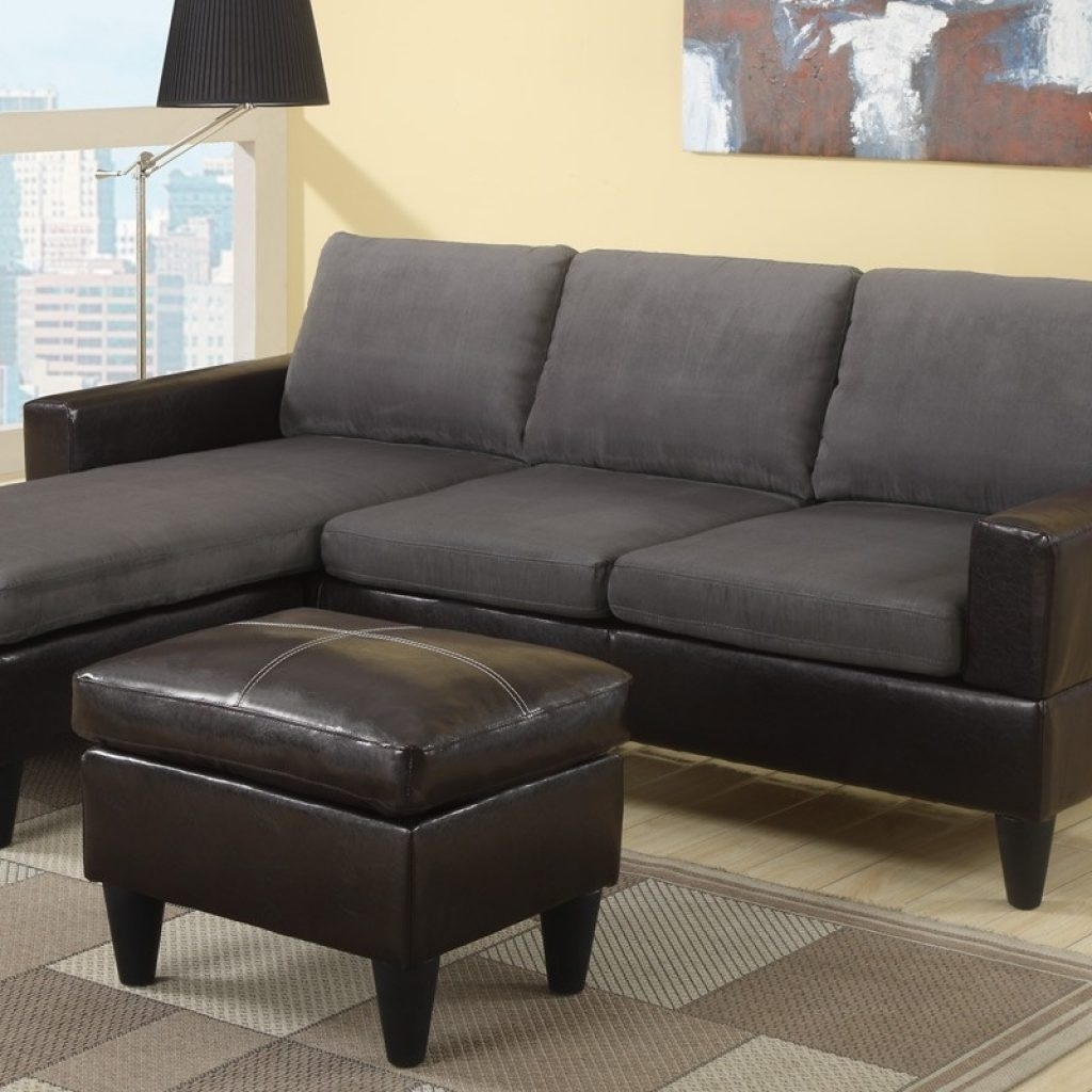 Incredible The Brick Leather Sectional – Buildsimplehome Within The Brick Sectional Sofas (Image 4 of 10)