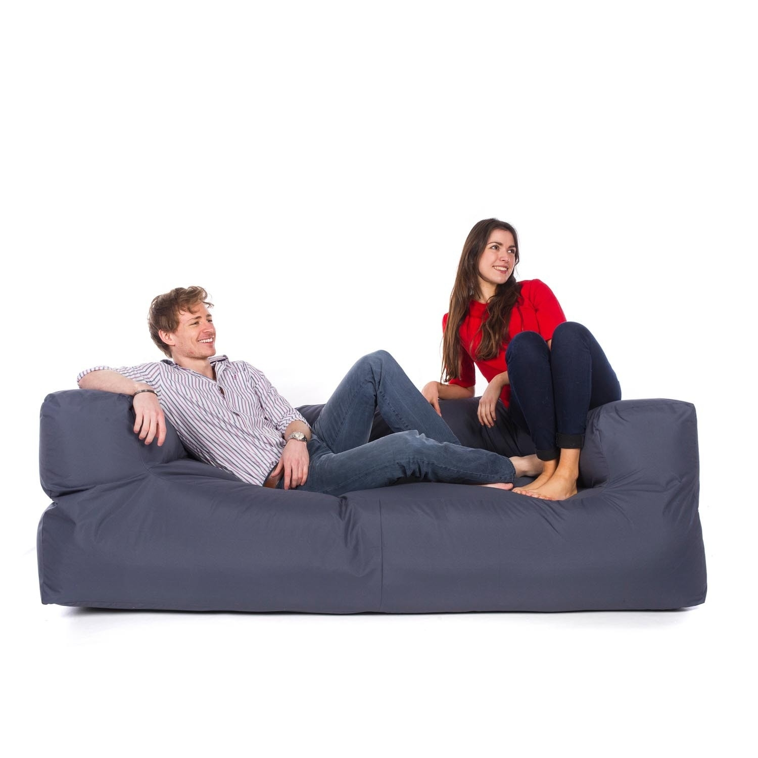 Indoor/outdoor Couch Bean Bag Intended For Bean Bag Sofas (Image 7 of 10)