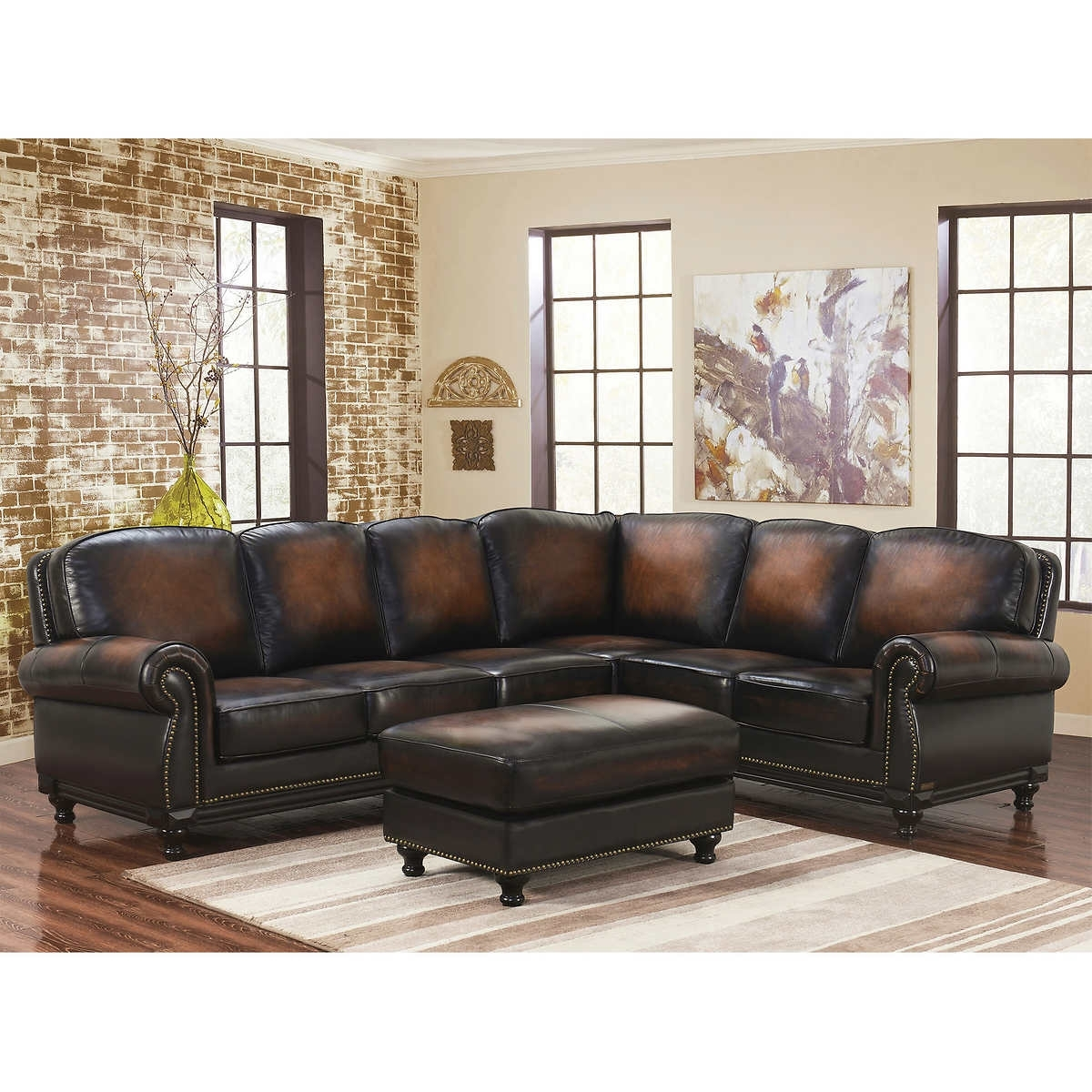 Inspirational Leather Sectional Sofa With Recliner 36 For Sofas And Regarding Sectional Sofas With Recliners Leather (View 7 of 10)