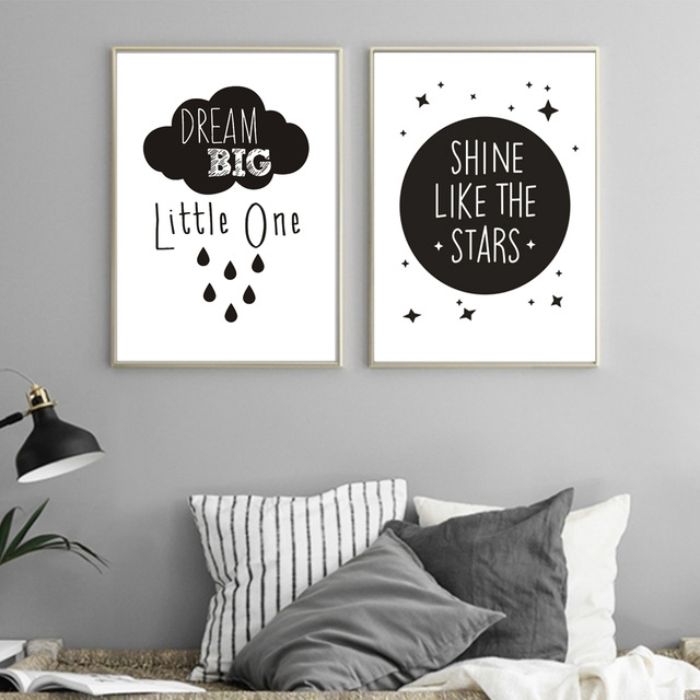 Inspirational Love Quotations Canvas Painting Poster Printable For Modern Nursery Canvas Wall Art (Image 5 of 15)