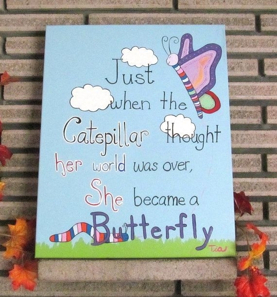 Inspirational Quote, Inspirational Art, Inspirational Quotes Within Inspirational Quote Canvas Wall Art (Image 8 of 15)